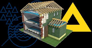 Теплоізоляція, гідроізоляція та водовідведення